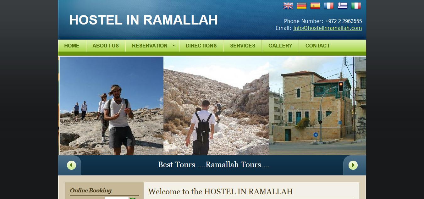Hostel Ramallah Palestine