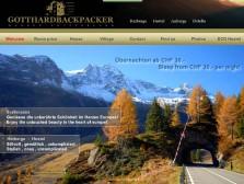 Gotthardbackpacker Wassen