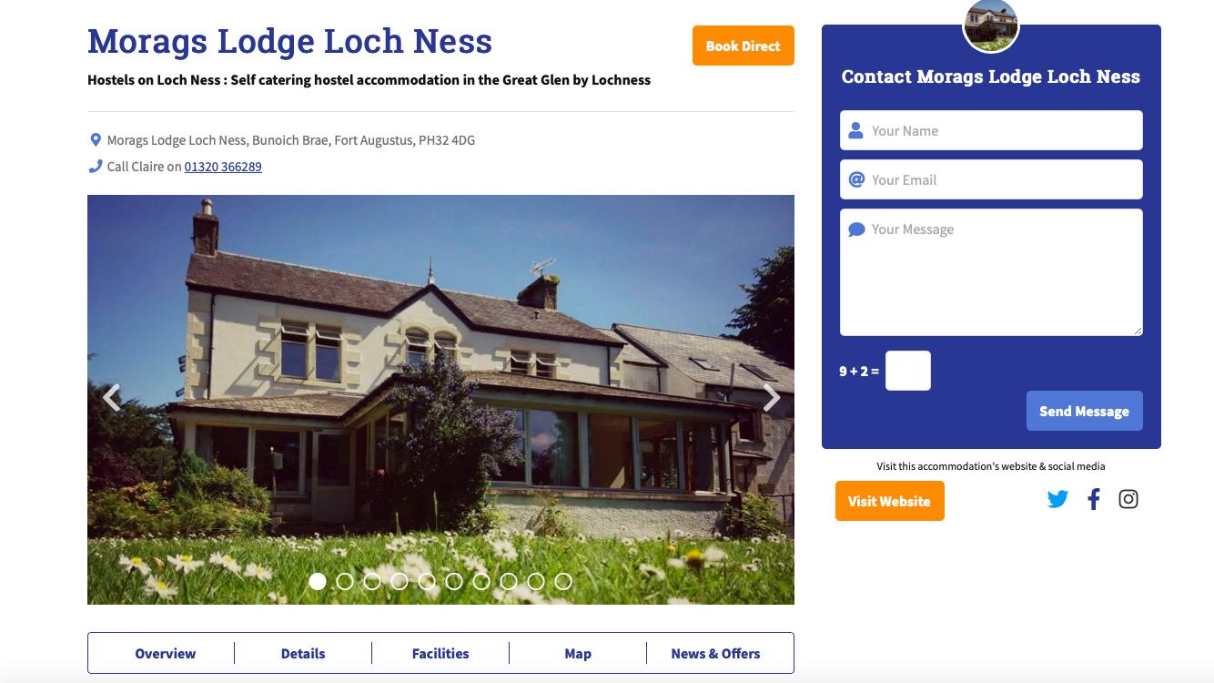 Morags Lodge Loch Ness