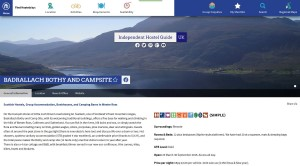 Badrallach Bothy & Campsite